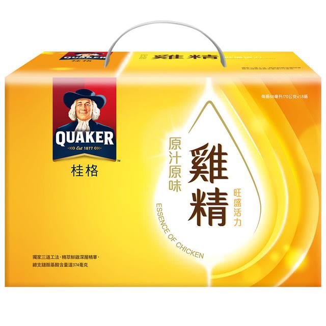 桂格 原汁原味雞精禮盒
