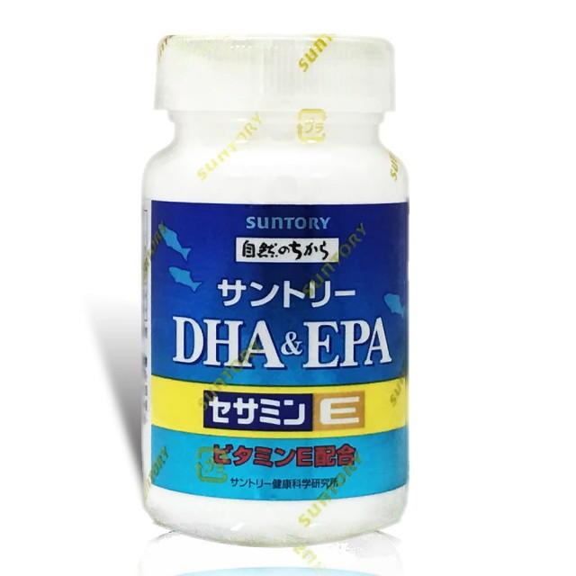 Suntory 三得利 魚油 DHA & EPA + 芝麻明 E