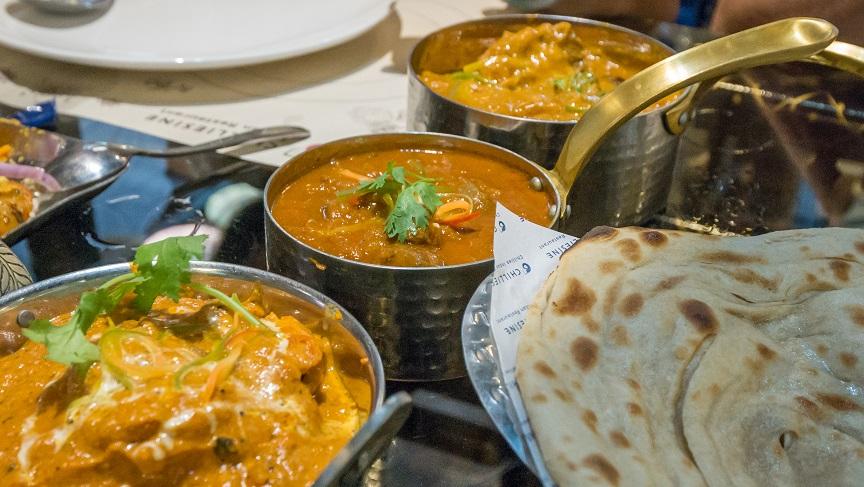 南印風味雞肉咖哩 香料羊肉咖哩