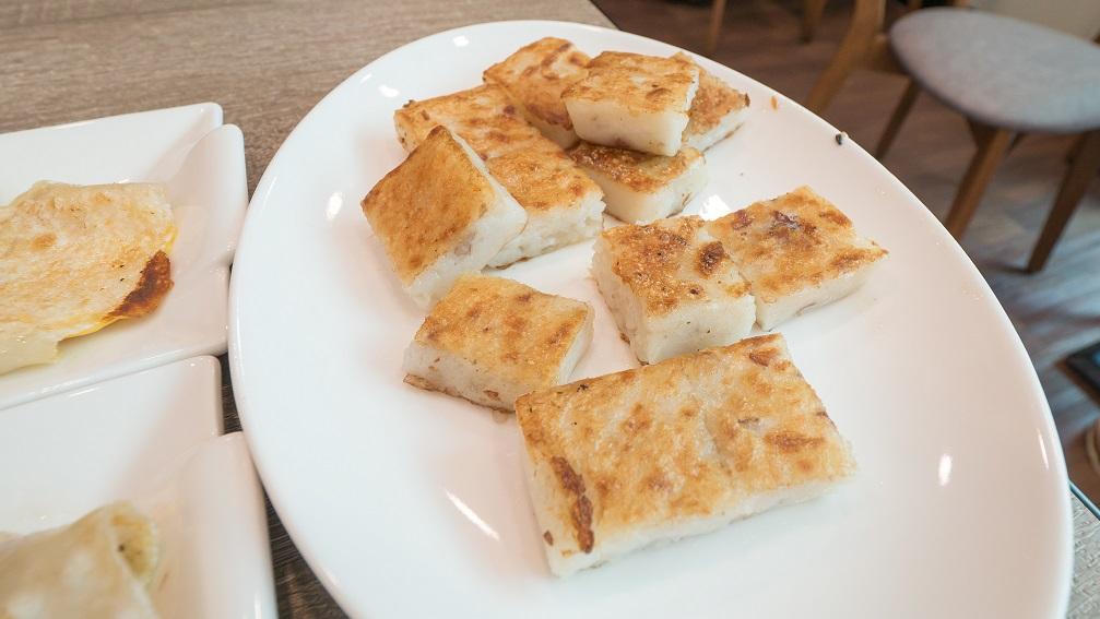 里歐歐式早餐蘿蔔糕