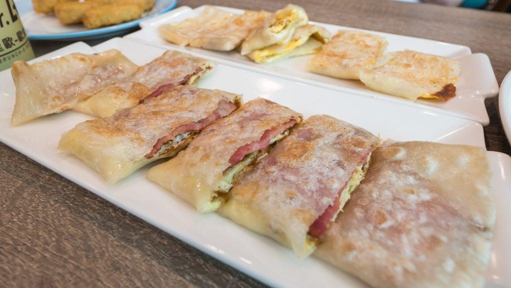 里歐歐式早餐培根蛋餅