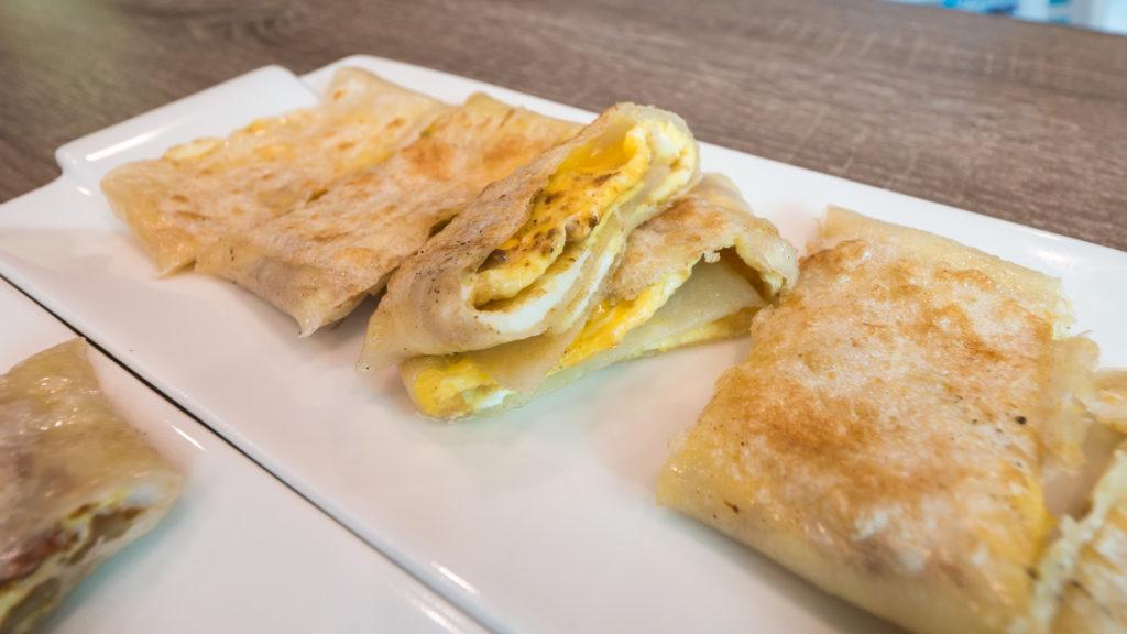 里歐歐式早餐原味蛋餅