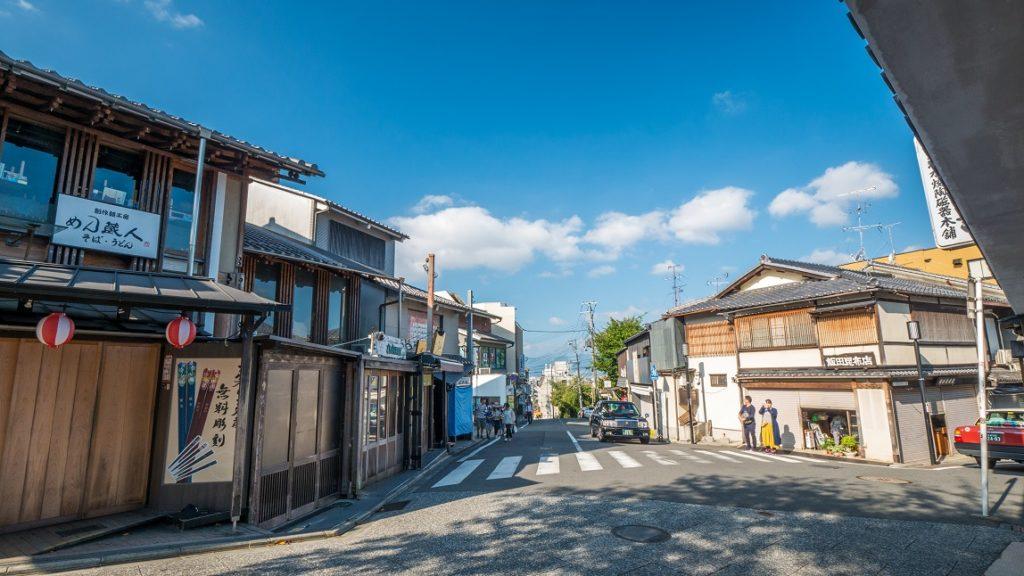 清水寺附近街道