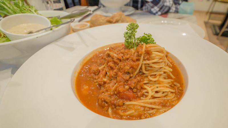 傳統肉醬義大利麵