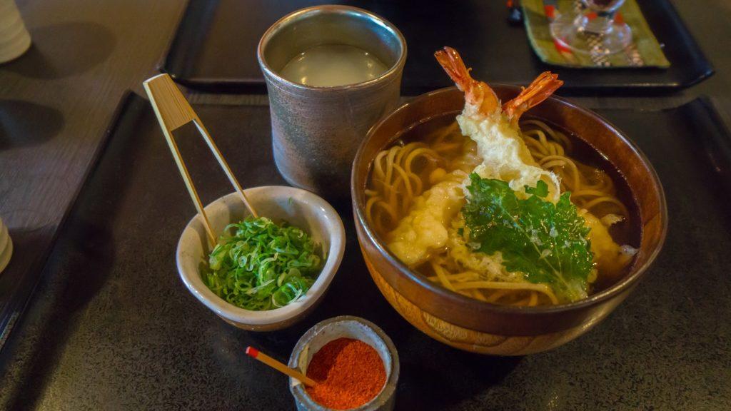 清水寺附近蕎麥麵