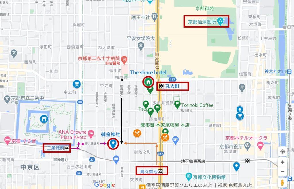御金神社 map