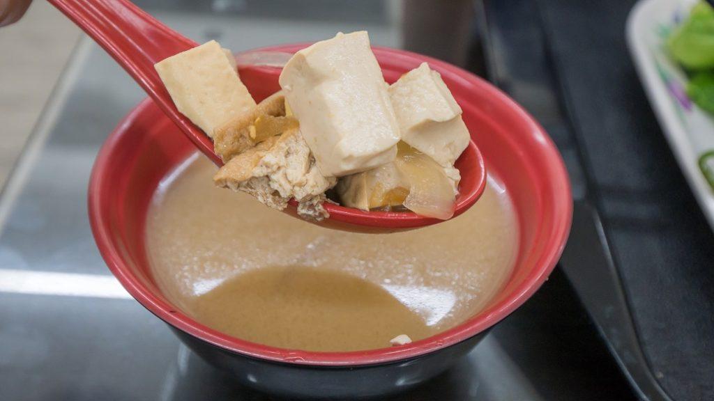 張記美食館味噌湯