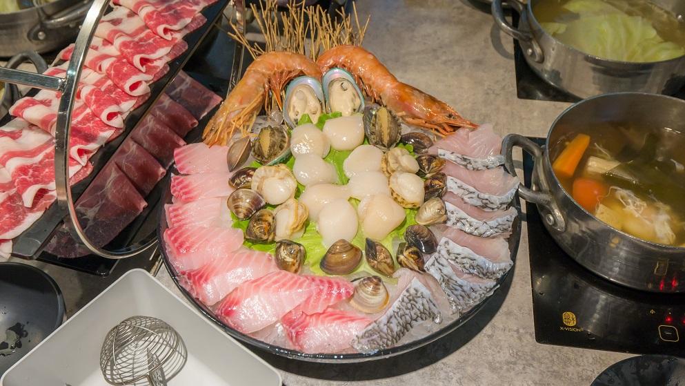 宇良食健康鍋物干貝海鮮盤