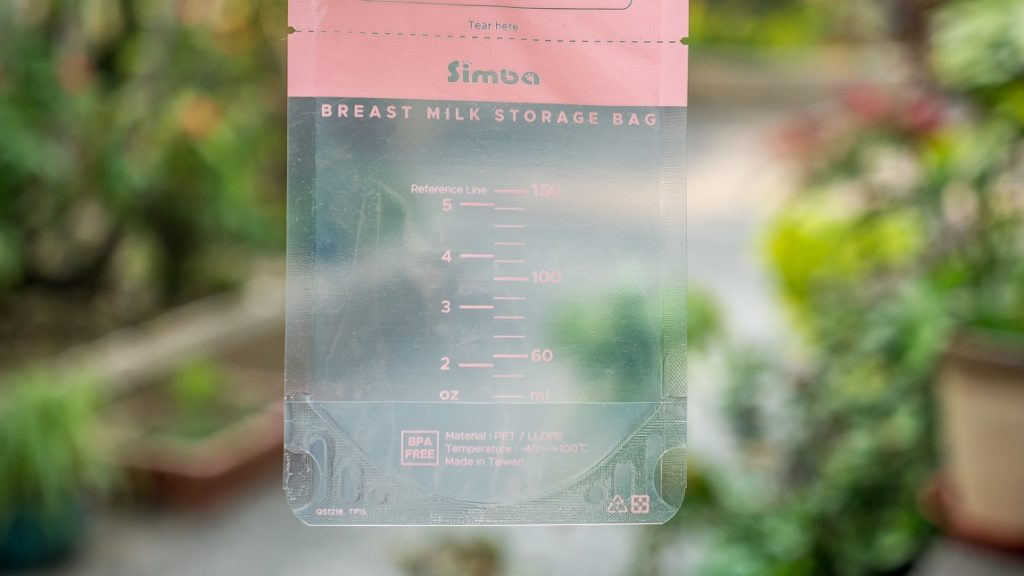 小獅王辛巴母乳儲存袋